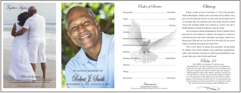 Funeral Programs Victory Designs Printing